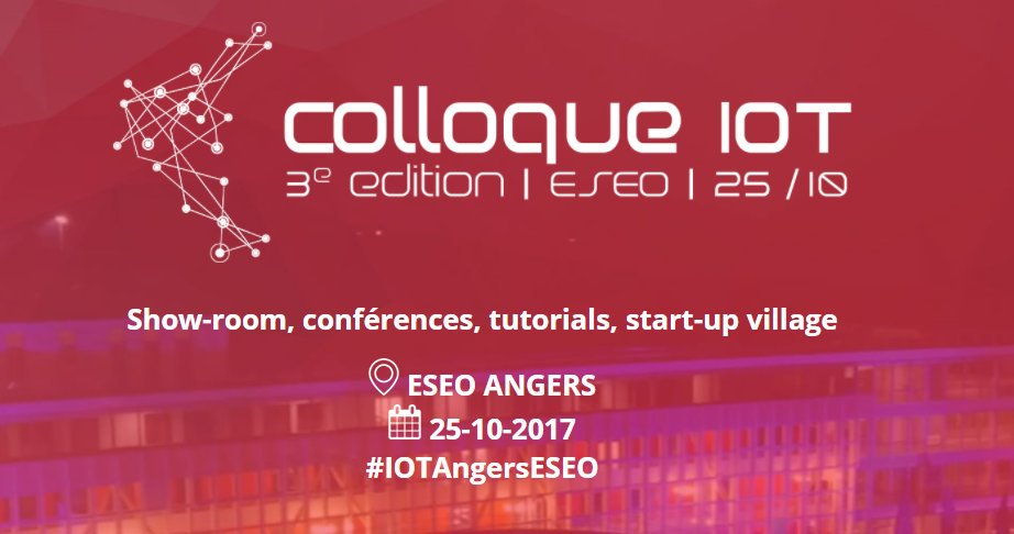 Colloque IOT 2017