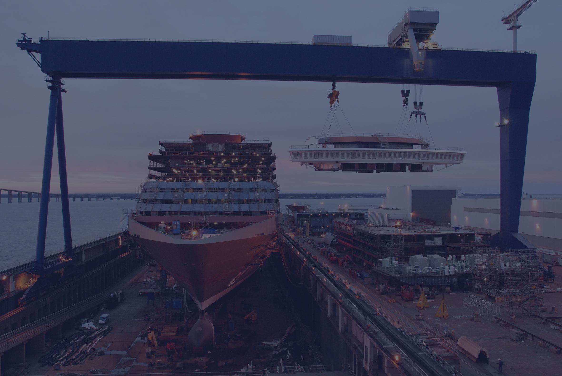 Chantiers de l'Atlantique / Industrie Navale 4.0